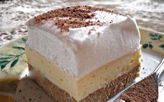 Foamy the real cake! Hungarian Desserts, Hungarian Cake, Hungarian Recipes, No Bake Desserts, Easy Desserts, Dessert Recipes, Sweet Cookies, Sweet Treats, Torte Cake