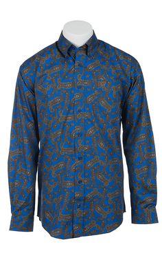 Cinch L/S Men's Fine Weave Shirt 1103753