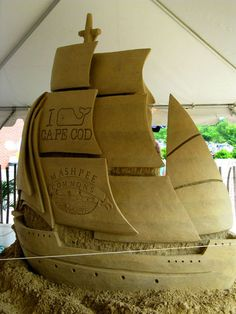 Ships Ahoy!  Sean F. from Saugus, Massachusetts has his own sculpting business!