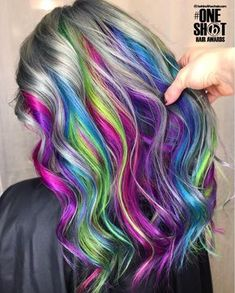 here is another entry for your awards! Bt … You are in the right place about rainbow hair light Here we offer you the most beautiful pictures about the rainbow hair brown you are looking for. When you examine the here is another entry for your awards! Pretty Hair Color, Hair Color Purple, Hair Dye Colors, Purple Ombre, Unicorn Hair Color, Underlights Hair, Bright Hair, Rainbow Hair, Rainbow Unicorn