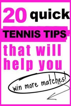 Discover simple tips and tricks to improve your tennis serve, groundstrokes, and volleys. Learn ways to improve your mental tennis strategy which will help you improve your overall performance on the tennis court. Tennis Games, Tennis Gear, Tennis Tips, Tennis Serve, Tennis Match, Tennis Techniques, How To Play Tennis, Tennis Funny, Tennis Lessons