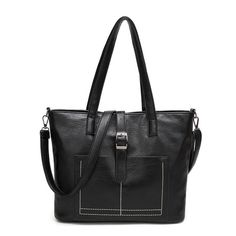 34.00$  Watch here - http://aliofi.shopchina.info/go.php?t=32794471108 - Causal Women Tote Bag Leather Handbag Large Capacity Ladies Shopping Use Shoulder Bag Fashion Designer 2017 34.00$ #buyininternet