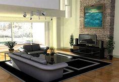Aquí aprenderás como decorar tu sala con colores relajantes y qué estilo de colores elegir para los cojines, los cuadros, las lámparas modernas, etc. http://disenosdesalas.com/decoracion-salas-modernas-elegantes/