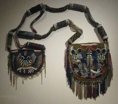 Early 20th century Yoruba peoples Diviner's bag - Handbag - Early 20th century Yoruba Diviner's bag, from the Oyo region, Nigeria.