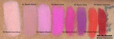 Color For Chocolate | Milani Cosmetics Moisture Matte Lipstick Review, Swatches, Photos | http://colorforchocolate.com