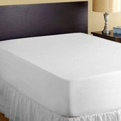PureCare Aromatherapy 5-Sided Mattress Protector, White