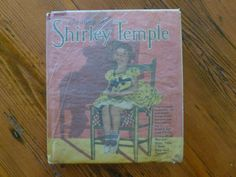 Vintage Book The Story of Shirley Temple by Grace Mack, Authorized Edition, Saalfield Publishing, Hollywood Photos Supplied Fox, Paramount by MuskRoseVintage on Etsy