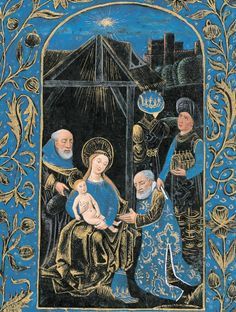Adoration of the Magi from the Black Hours