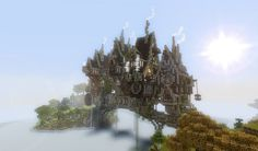 Minecraft Steampunk Town