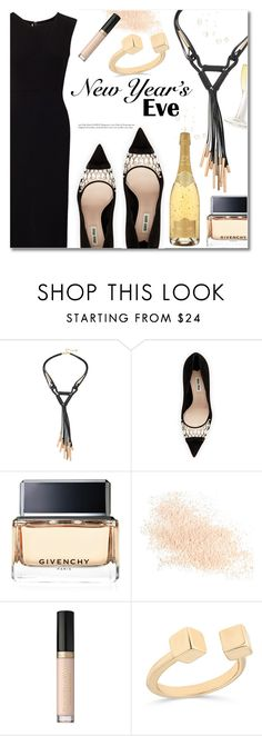 """""""Untitled #3000"""" by deeyanago ❤ liked on Polyvore featuring Miu Miu, Givenchy, Eve Lom, Too Faced Cosmetics and Roland Mouret"""