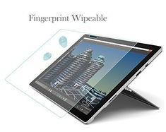 nice Tranesca Tempered Glass Screen Protector for Microsoft Surface Pro 3 ( Not for Surface 3)