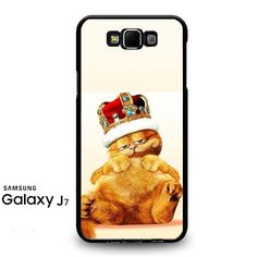 Garfield Garfield King Of Lazy Cat Samsung Galaxy J7 Prime Case