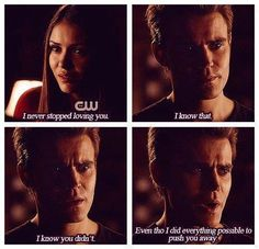 Elena, Stefan.   - Quotes - TVD - The Vampire Diaries