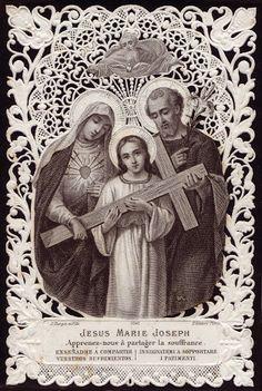 Jesus, Maria e José, minha família vossa é! ICM