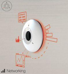 Sundial Concept Wall Clock
