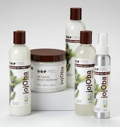 some of our hair faves! Eden Body Works recently launched their new JojOba Collection which consists of All Natural Moisturizing Shampoo; All Natural Revitalizing Conditioner; All Natural Hair Milk; All Natural Deep Conditioner; and, our favorite, the All Best Natural Hair Products, Natural Hair Tutorials, Natural Hair Tips, Natural Hair Styles, Going Natural, Beauty Products, Black Natural Hair Care, Black Hair Care, Hair Milk