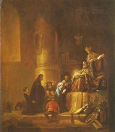 Jacob de Wet - The Presentation of Christ in the Temple