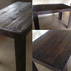 Pallets Arte: Mesa para 6 pessoas