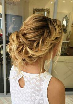 Long wedding updos and hairstyles from Elstile  #weddinghairstyle #weddingup #bridalhairstyles #wedding #weddingideas ❤️ http://www.deerpearlflowers.com/new-long-wedding-hairstyles-updos/6/