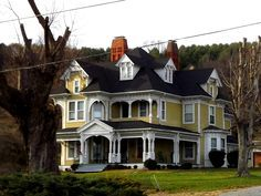 Own a Victorian Style home.