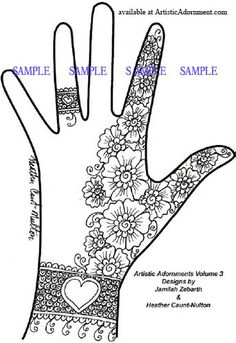 Artistic Adornments - Volume 3 - $7.00 : Artistic Adornment, Henna Supplies - henna tattoo kits, henna powder, professional mehndi supplies