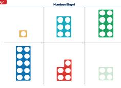 Numacon Bingo - Full resource to print and use! Numicon Activities, Autism Activities, Free Activities, Numeracy, Maths Eyfs, Math Literacy, Early Math, Early Learning, Mastery Maths