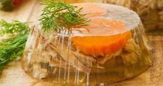 Retete mancare traditionala romaneasca : Piftie ca la mama acasă Carne, Camembert Cheese, Cantaloupe, Carrots, Dairy, Christmas Decorations, Vegetables, Kitchen, Honey