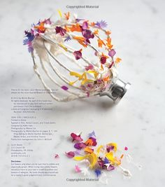 Cooking with Flowers: Sweet and Savory Recipes with Rose Petals, Lilacs, Lavender, and Other Edible Flowers: Amazon.co.uk: Miche Bacher, Miana Jun: Books