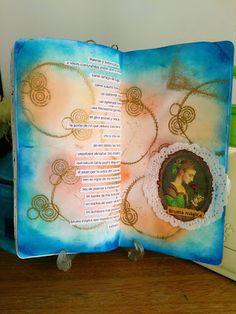 Mi Scrap: Bruma Mágica My Poem - art journal Blog, Card Making, Scrapbook, Journal, Mists, Art Journaling, Stamps, Poems, Blogging