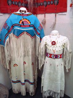 Native American Women Clothing   Native American Dresses at Blaine Country Museum in Chinook, Montana