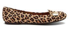 $59 - NIB Sperry Top-sider Brooks loafer Flats Leopard pony hair slip-on - Women's size 12