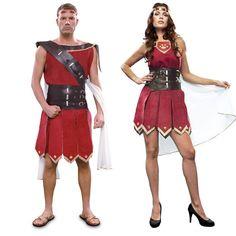 Costumes pour couples Guerriers Romains #déguisementscouples