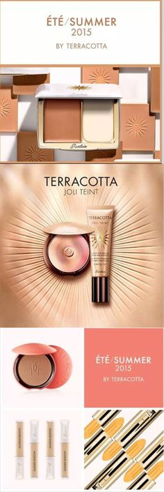 Summer 2015 - #Guerlain Terracotta cosmetic range #Luxurydotcom
