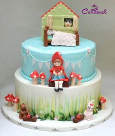 Little Red Riding Hood Cake by Caramel Doha
