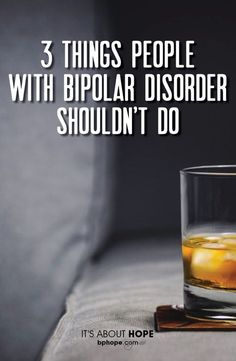 In reality there are more than 3 three things that people living with bipolar disorder shouldn't do. But, Gabe Howard had to start somewhere. Keep Reading...