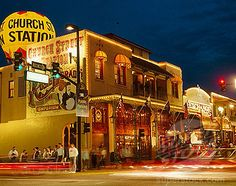 Church Street Station , Orlando Fl.  One of my favorite places to hang out on the weekends.