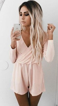 #summer #ultimate #outfits | Blush Playsuit
