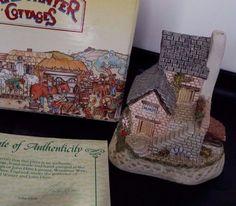 The Cobbler David Winter Cottages Collectors Guild No 7 w COA  Box