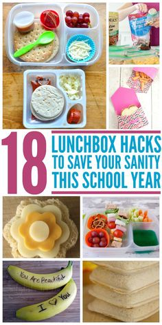 Healthy lunchbox ideas to save you money and reclaim school lunches. -One Crazy House