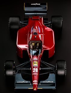 Ferrari 643 - Jean Alesi by nancorocks.deviantart.com on @DeviantArt