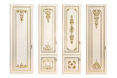 """Примеры использования резного декора от компании """"Ставрос"""" в оформлении мебельных фасадов"""