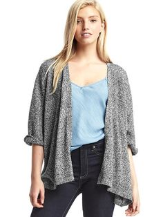 Style meets cozy comfort in these chic sweaters for women from Gap. Find women's sweaters from cardigans to pullovers in a range of colors and soft fabrics. How To Roll Sleeves, Half Sleeves, Shawl Collar Cardigan, Gap Women, Heather Grey, Sweaters For Women, Style Inspiration, Cardigans