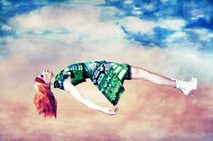 """The Surrealist Ideal"" (a/w 12)   Mary Katrantzou`s collaboration with Erik Madigan Heck"