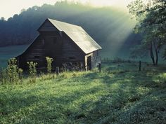 Tipton Place, Cades Cove, Great Smoky Mountains National Park, Tennessee #cadescove