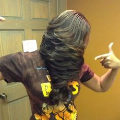 Layered And Laid - http://www.blackhairinformation.com/community/hairstyle-gallery/relaxed-hairstyles/layered-laid/ #relaxedhairstyles