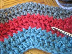 beginner crochest projects | mostly a double crochet. I consider myself a beginner at crochet ... ༺✿ƬⱤღ http://www.pinterest.com/teretegui/✿༻