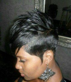 #Pixie Cut On Black Hair - We Are Beautiful, Black & Braided #Blackhairstyles African Girls Hairstyles, Top Hairstyles, Cute Hairstyles For Short Hair, Trending Hairstyles, Curly Hair Styles, Natural Hair Styles, Braided Hairstyles, Sassy Haircuts, Gorgeous Hairstyles