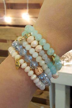 Erimish Stackable Bracelets, SPRING