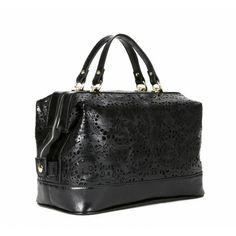 Laser Cut Satchel Bag   Duffel Bag Coach Purses Outlet 5019b541094c3