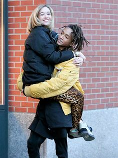 Star Tracks: Thursday, February 4, 2016 | WALKING ON AIR | Sarah Snyder gets carried away on Tuesday by her boyfriend, Jaden Smith, during a stroll through New York City's SoHo neighborhood.